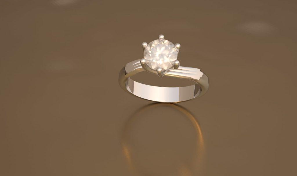 Bague diamant 06