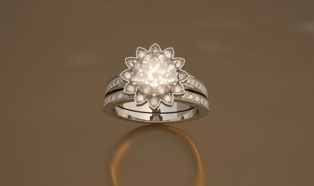 Brussel diamanten ring